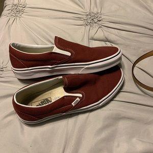 maroon vans